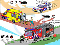 Vehicles of emergency services